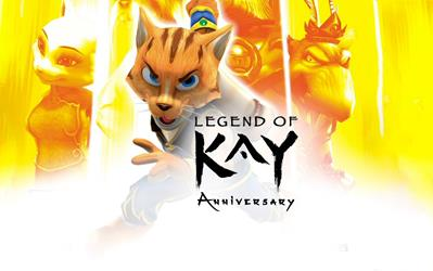 Legend of Kay - Anniversary cover