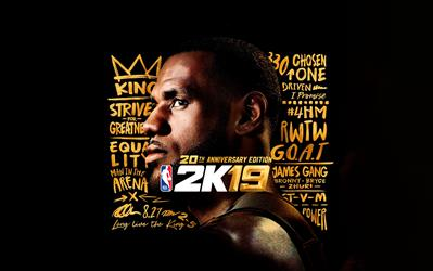 NBA 2K19 20th Anniversary Edition cover