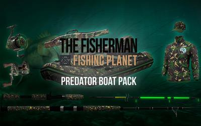 The Fisherman - Fishing Planet: Predator Boat Pack cover