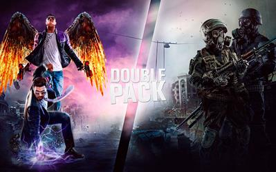 Saints Row & Metro Double Pack cover