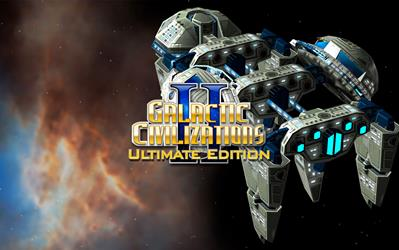 Galactic Civilizations II: Ultimate Edition cover
