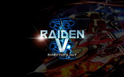 Raiden V: Director's Cut cover