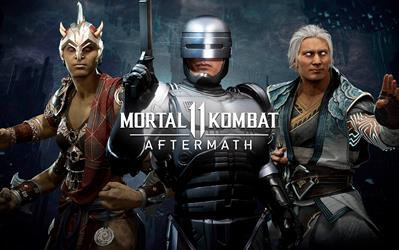 Mortal Kombat 11 - Aftermath cover