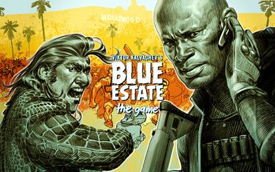 Blue Estate - The Game cover