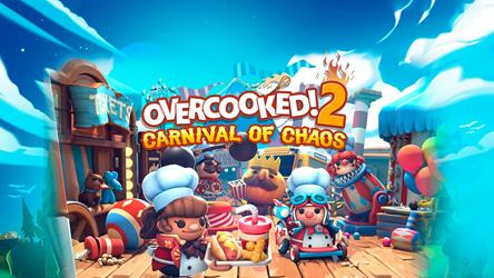 Overcooked! 2 - Carnival of Chaos (DLC) cover
