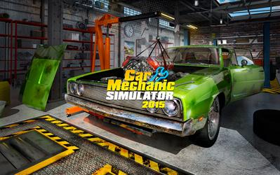 Car Mechanic Simulator 2015 cover