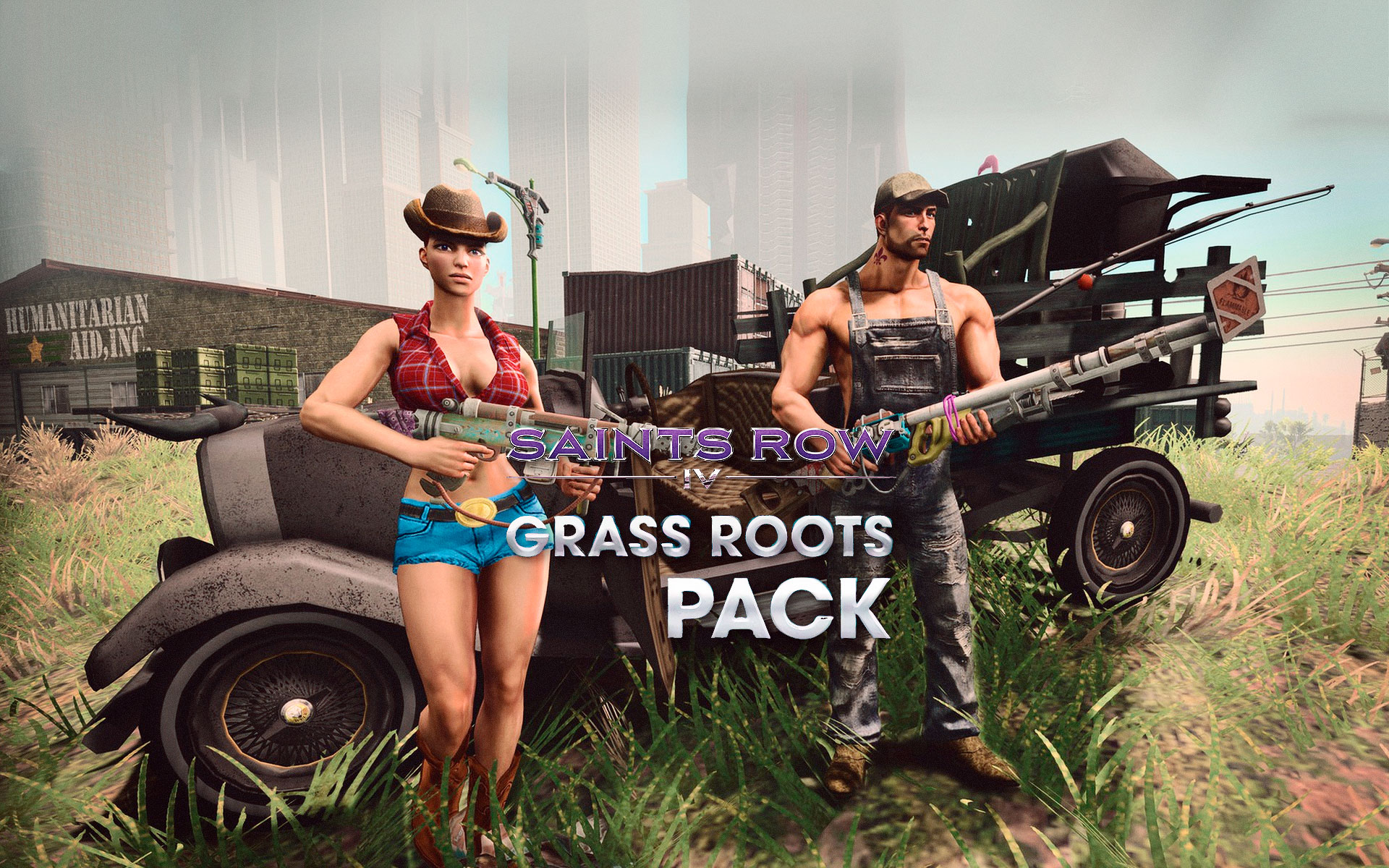 Saints Row IV Grass Roots Pack
