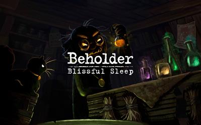 Beholder Blissful Sleep cover