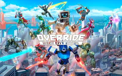 Override: Mech City Brawl cover