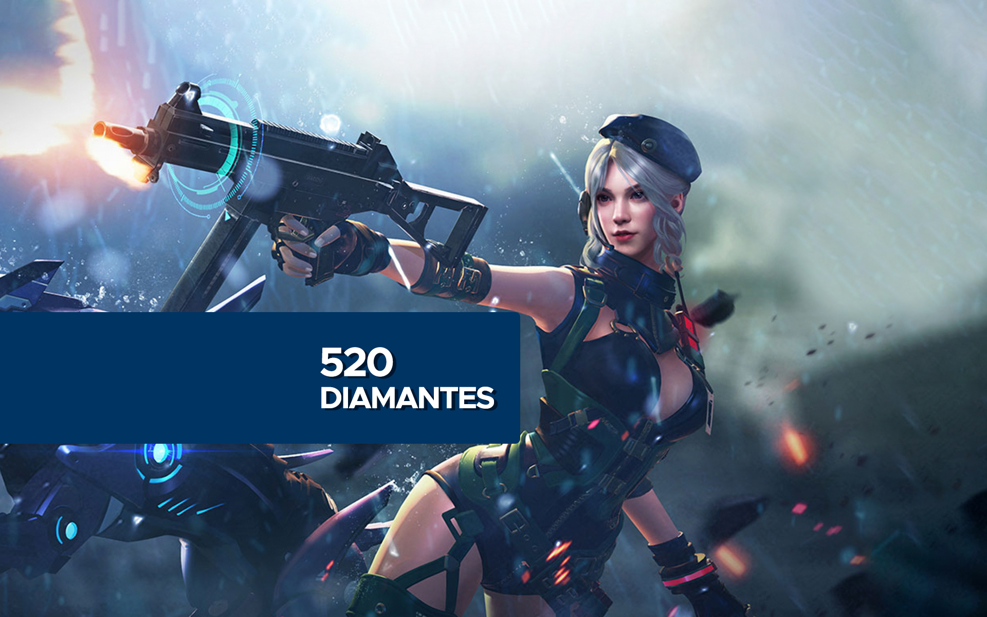 Free Fire - 520 Diamantes cover