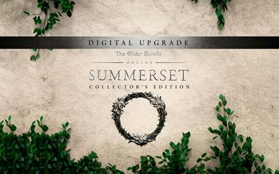 The Elder Scrolls Online: Summerset - Collector's Edition Upgrade cover