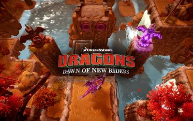 DreamWorks Dragons: Dawn of New Riders cover