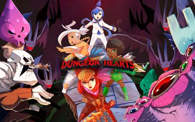 Dungeon Hearts cover