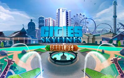 Cities: Skylines - Parklife cover