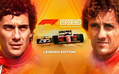 F1 2019 - Legends Edition cover