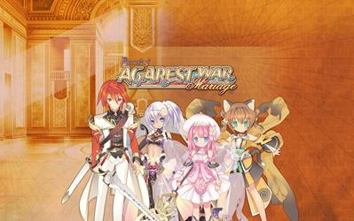 Record of Agarest - War Mariage cover