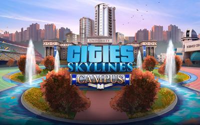 Cities Skylines - Campus cover