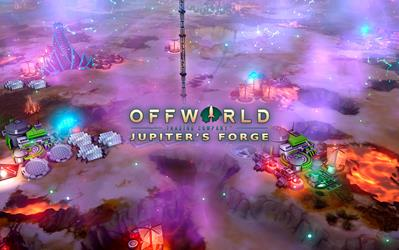 Offworld Trading Company: Jupiter's Forge Expansion Pack cover