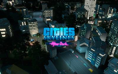 Cities: Skylines - After Dark cover