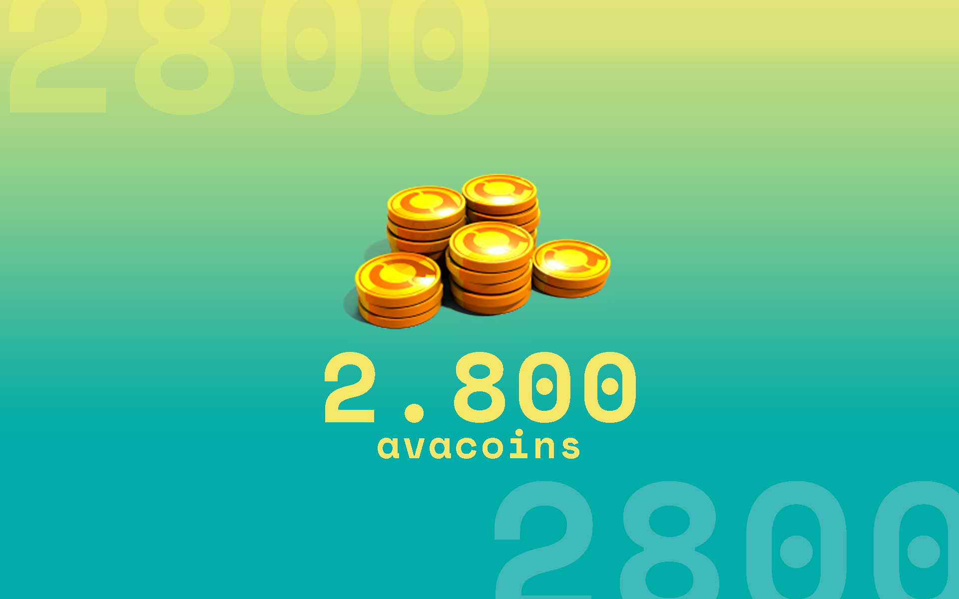 2.800 Avacoins cover