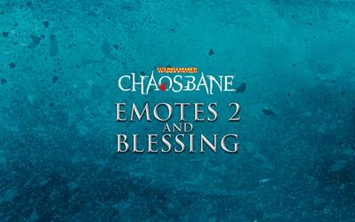 Warhammer: Chaosbane - Emotes 2 and Blessing DLC cover