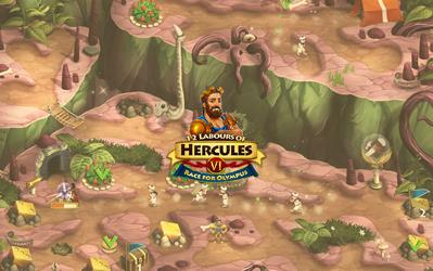 12 Labours of Hercules VI: Race for Olympus cover