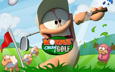 Worms Crazy Golf cover