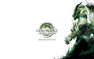 Guild Wars II – Heart of Thorns - Deluxe cover