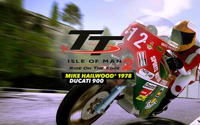 TT Isle of Man 2 Ducati 900 - Mike Hailwood 1978 cover
