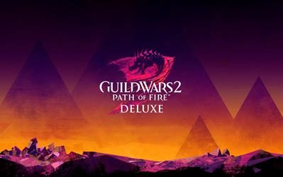 Guild Wars II - Path of Fire: Deluxe cover