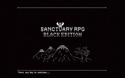SanctuaryRPG: Black Edition cover