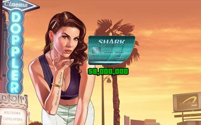 Grand Theft Auto Online: Megalodon Shark Cash Card cover