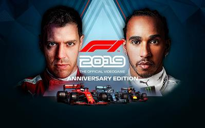 F1 2019 Anniversary Edition cover