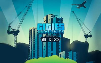 Cities: Skylines - Art Deco cover
