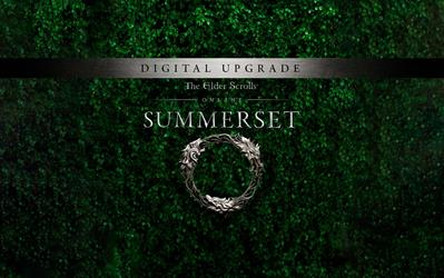 The Elder Scrolls Online: Summerset - Upgrade Edition cover