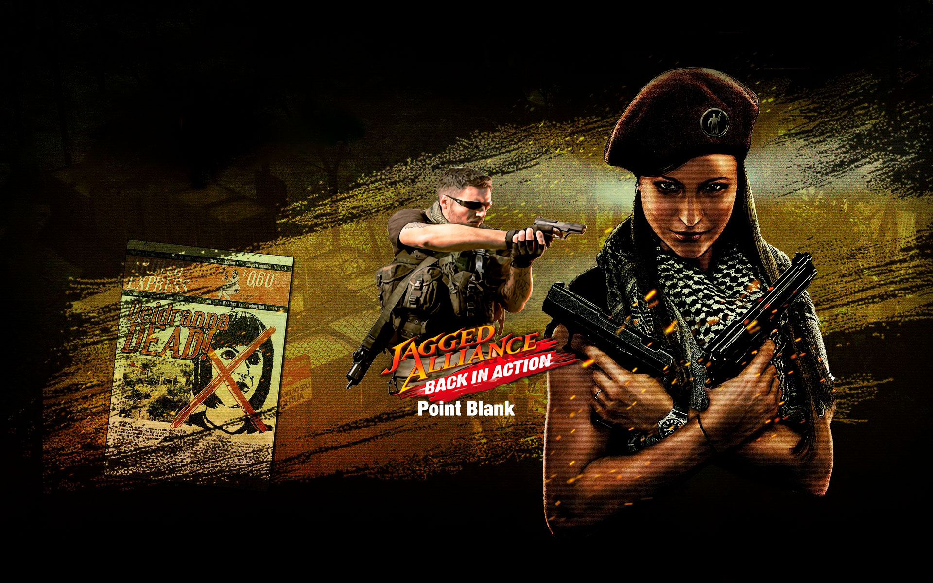 Jagged Alliance : Back In Action Point - Blank (DLC 2)