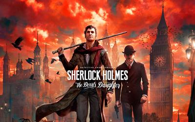 Sherlock Holmes and The Devil's Daughter cover