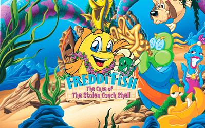 Freddi Fish 3: The Case of the Stolen Conch Shell