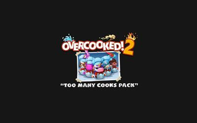 Overcooked! 2 - Too Many Cooks Pack (DLC) cover