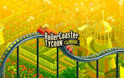 RollerCoaster Tycoon Classic cover