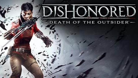 Dishonored: Death of the Outsider cover