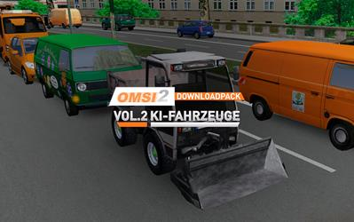 OMSI 2 Add-on Downloadpack Vol. 2 – KI-Fahrzeuge (DLC) cover
