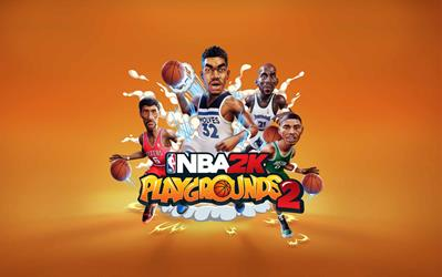 NBA 2K Playgrounds 2 cover