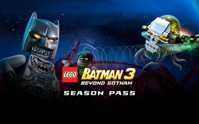 LEGO Batman 3: Beyond Gotham Season Pass cover