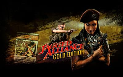 Jagged Alliance Gold cover