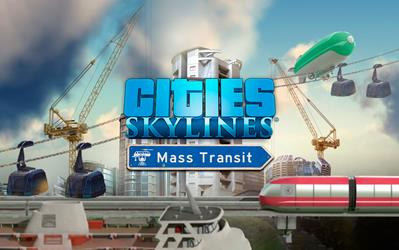 Cities: Skylines - Mass Transit cover