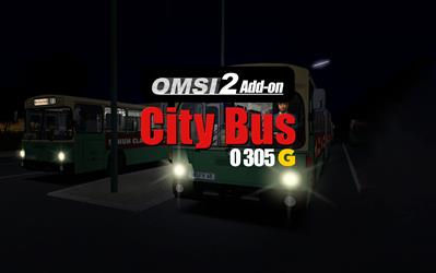 OMSI 2 Add-On Citybus O305G cover