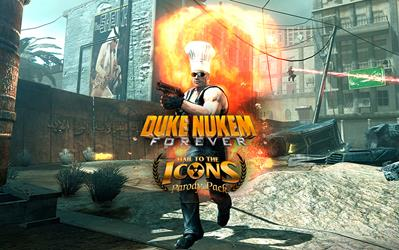 Duke Nukem Forever - Hail to the Icons Parody Pack cover