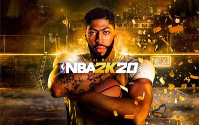 NBA 2K20 Digital Deluxe cover