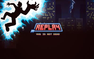 Replay - VHS Is Not Dead cover